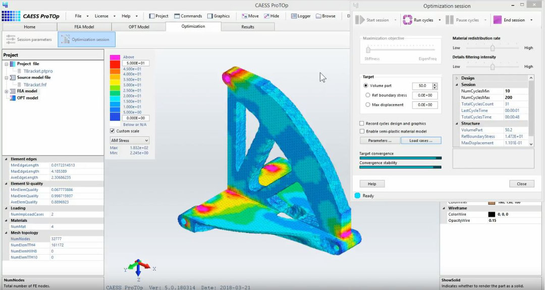 CAESS ProTOP - Topology Optimization Software