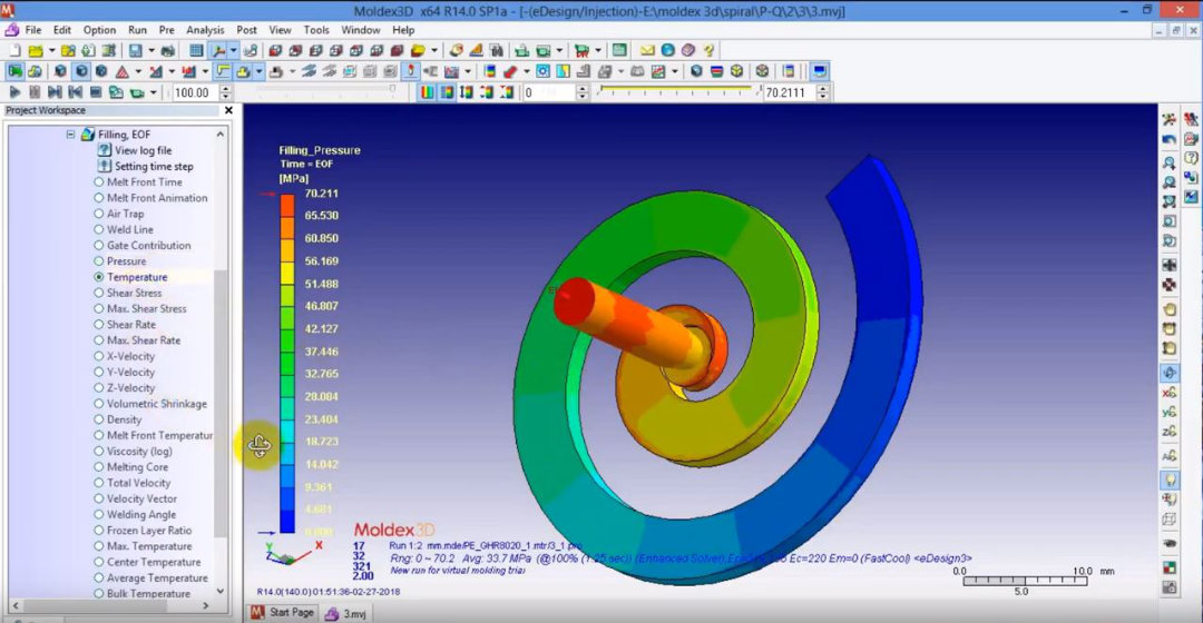 Gallery image of Moldex3D - injection molding simulation that works well with plastic injection software