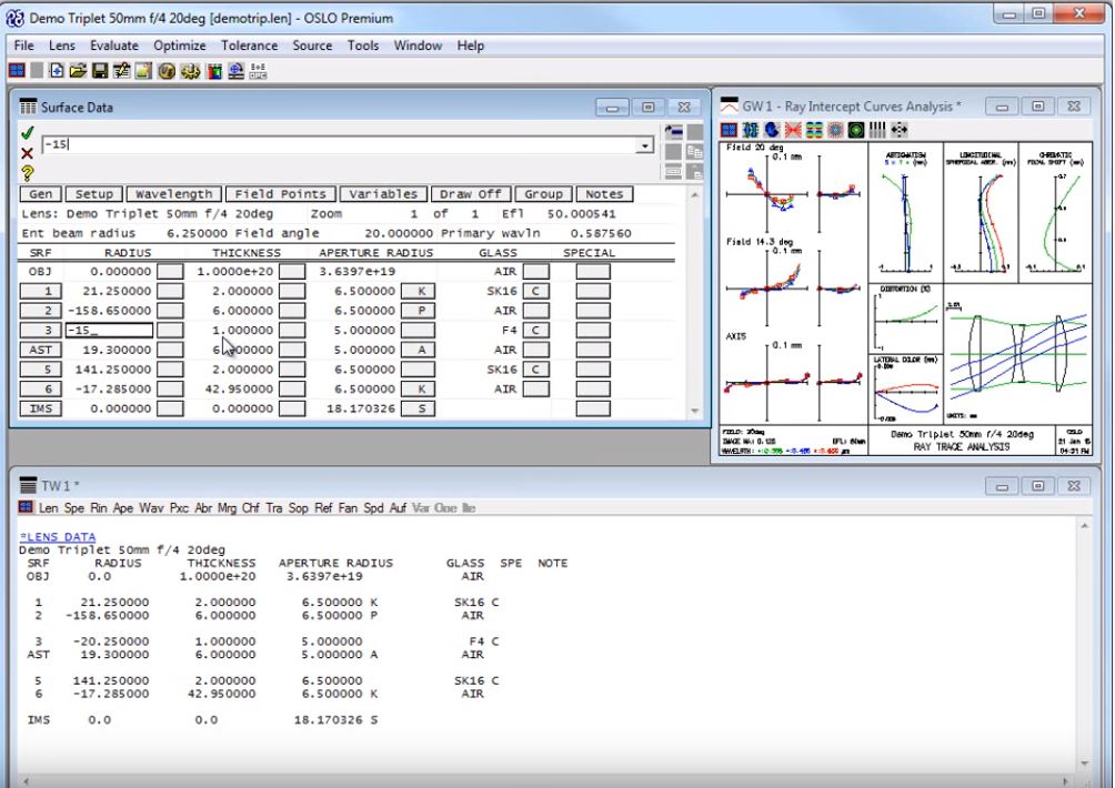 OSLO Software: lighting simulation software