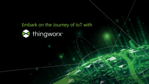 Embark on the journey of IoT with Thingworx