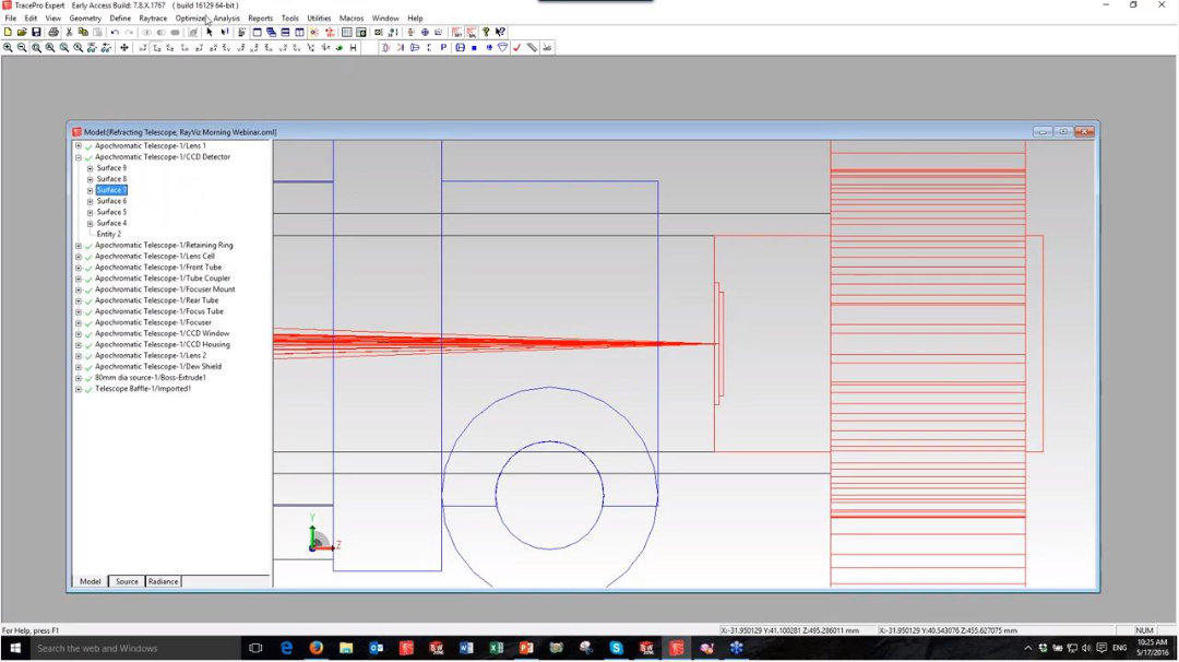 RayViz: lighting simulation software