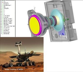 a mars buggy design from oslo light simulation software