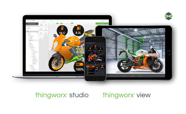 thingworx studio and view on multiple devices