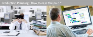 Production Planning:  How to ease the pain? 6