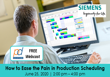 How to Ease the Pain in Production Scheduling 1