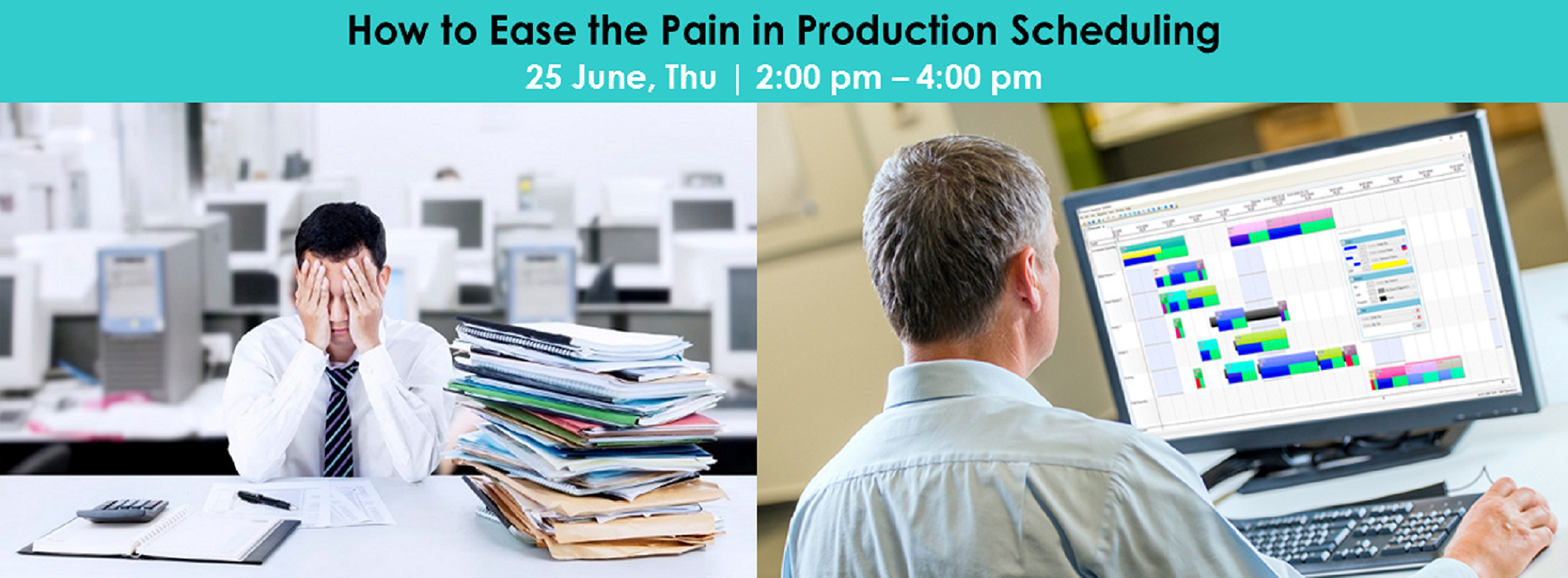 How to Ease the Pain in Production Scheduling 2