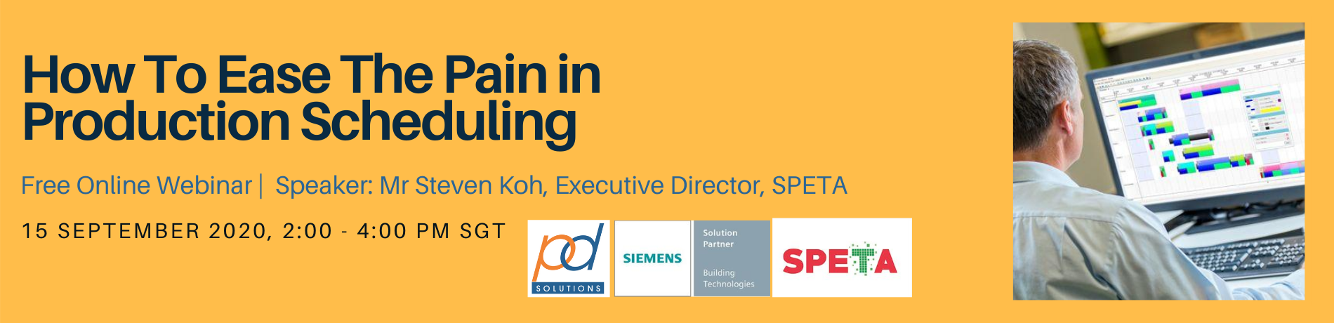 Production Scheduling Webinar with Siemens OpCenter and SPETA 2